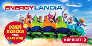 Dzień dziecka w Energylandii
