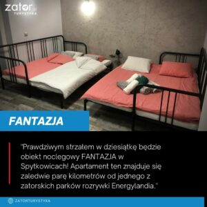 Fantazja, Spytkowice - noclegi blisko Energylandii
