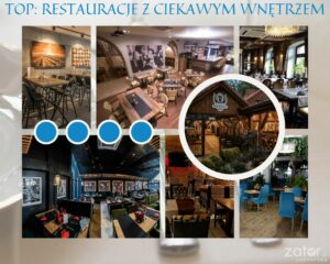 TOP: restauracje w Zatorze z fajnym wnętrzem - grafika