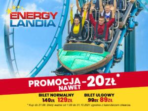 energylandia - bilety w promocyjnych cenach